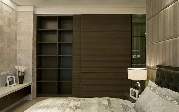 卧室衣柜推拉门图片推拉门式更方便实用