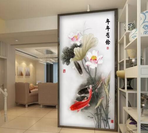 从风水角度解读玄关竹子九鱼挂画怎么样
