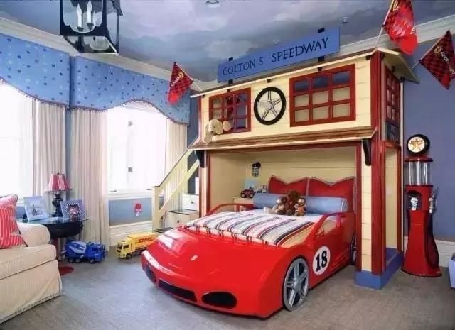 脑洞大开的设计,好漂亮的儿童房