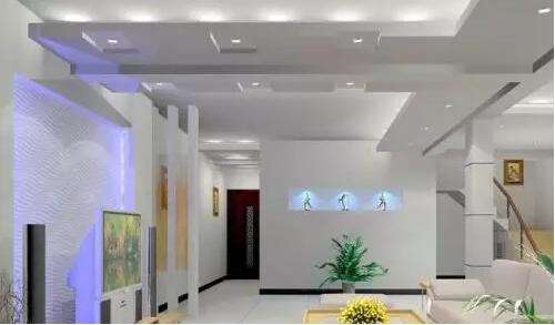 客厅餐厅吊顶造型介绍 各种款式客厅吊顶