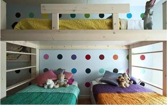 小户型儿童房效果图装修设计