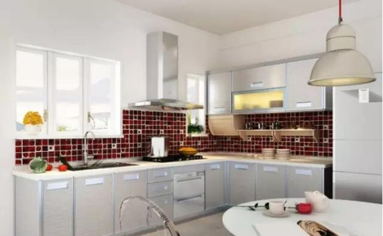 整体厨房品牌之韩丽家居 清雅整体厨房设计赏析