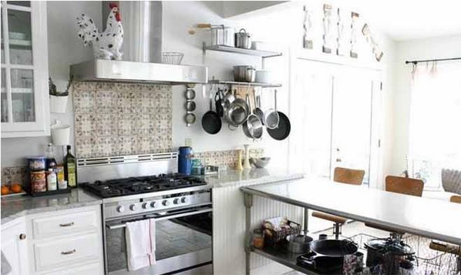 偏小的厨房用品摆放图片图片