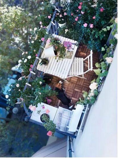 小阳台装修效果图  保证你没有看过!