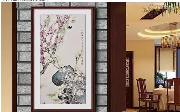 客厅除了玄关九鱼挂画还可以选择什么挂画?