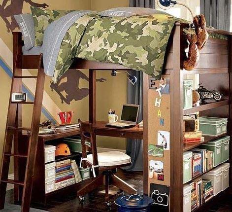儿童房实木上下床如何选购