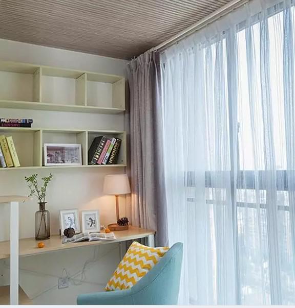 阳台如何改造成书房 美观不说还实用!