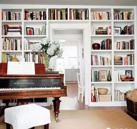 客厅兼书房设计形式大推荐!