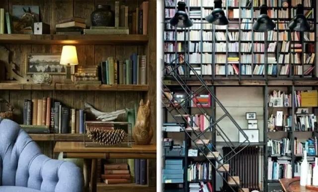 书房装修,要的就是有内涵~