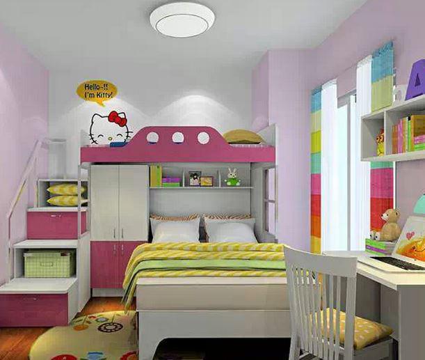 几张图告诉你什么是儿童房上下床装修