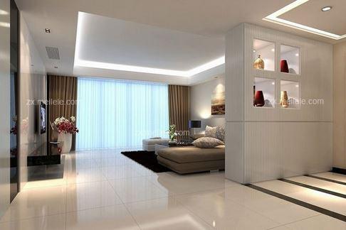 客厅吊顶有梁设计图 抬头就能赏析的家居美景
