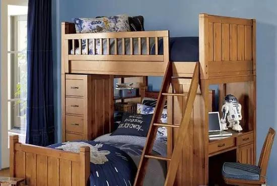 儿童房装修效果上下铺 儿童房应该怎样装修