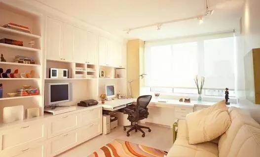 独具一格的客厅兼书房