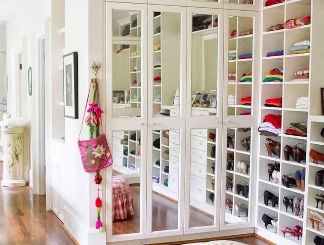 小户型阳台做衣帽间,让你的房子大起来!