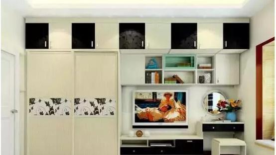 流行卧室衣柜图片2016款 小户型卧室设计