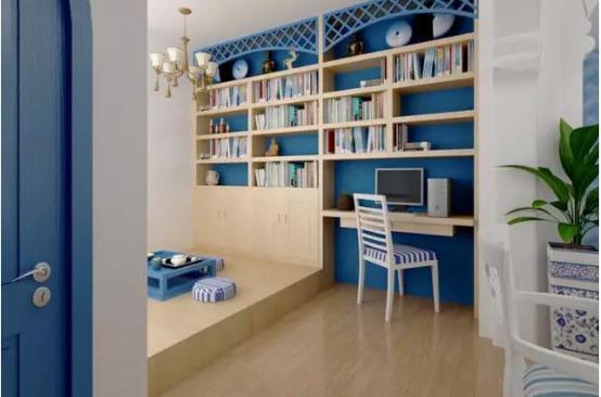小户型装修妙招 客厅书房设计案例