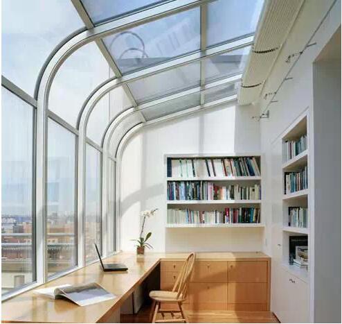 教你如何把小阳台装修成书房!