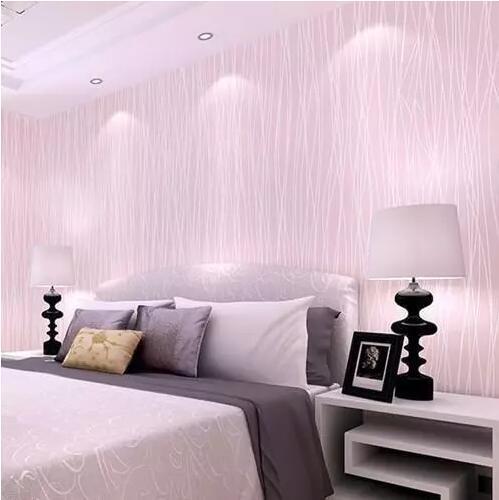 卧室墙纸贴一面好看吗?