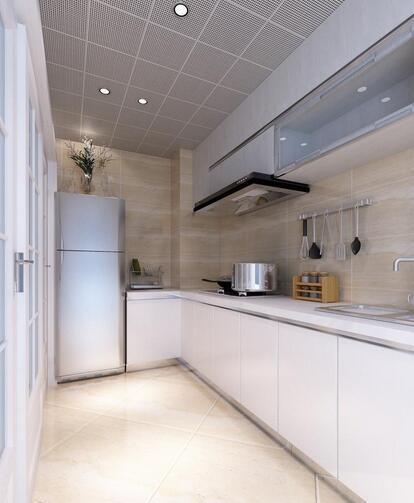 厨房吊顶用铝合金扣板   判别材料好坏只需3步