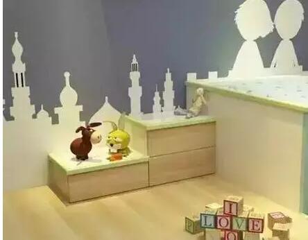儿童房床衣柜组合诚心推荐
