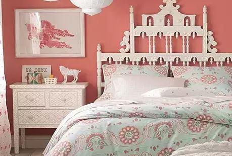 卧室墙纸完美搭配   再也不用吐槽了!