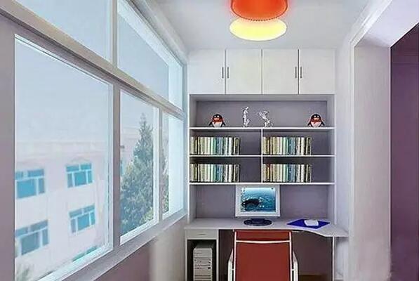 小阳台书房设计推荐