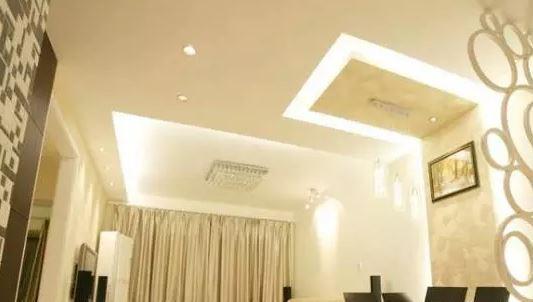 最流行客厅吊顶施工图欣赏
