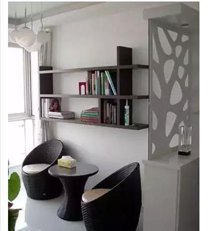 小户型阳台变书房