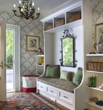 门厅玄关设计图 实用美观两兼具