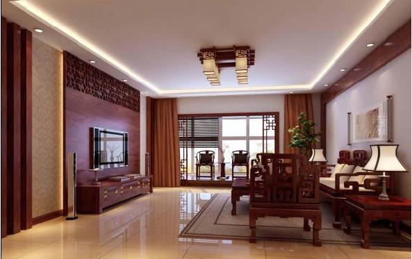 2016客厅装修效果图,体验传统之美