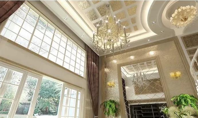 别墅客厅吊顶装修效果图精选
