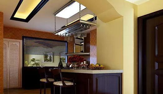 厨房吊顶装修效果图 给你的厨房增添不一样的美感