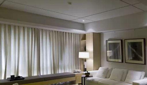 客厅吊顶施工图纸 中式客厅吊顶造型方案
