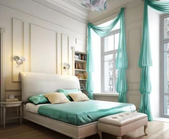 欧式卧室整体床设计效果图鉴赏