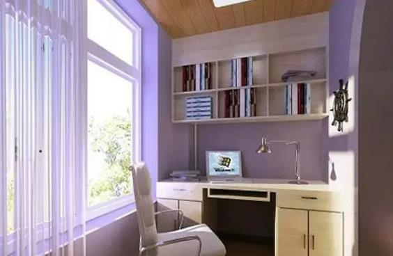 阳台小书房装修效果图