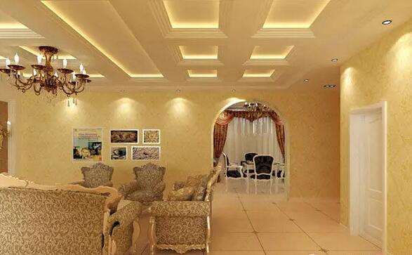 客厅吊顶设计尺寸图 装修效果图大全