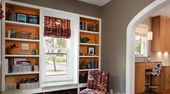 榻榻米书房装修效果图,让书房更加舒适!