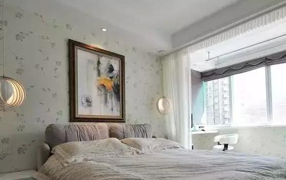 卧室贴墙纸好不好,解读贴墙纸必备知识