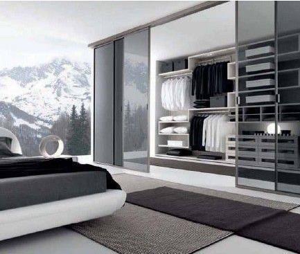 卧室做隔断分出衣帽间,大气精致