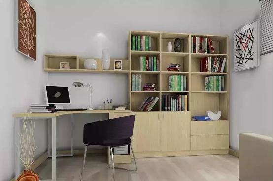 10�O书房装修设计效果图 轻松营造个性书房