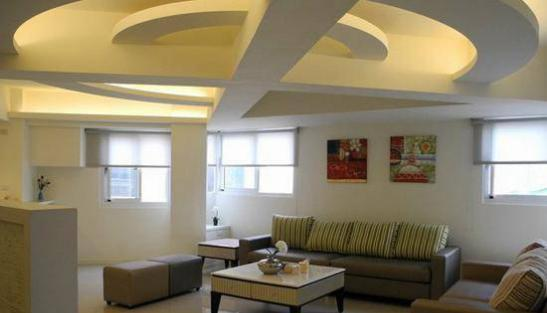 现代简约客厅装修效果图大全2016图片