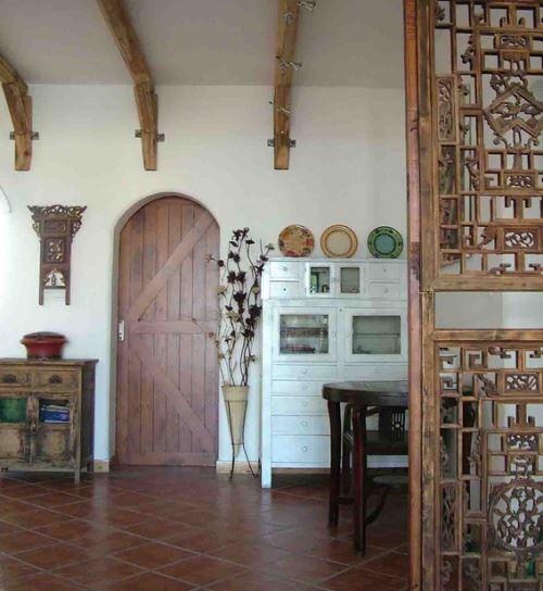 开放式厨房门 家装厨房门设计效果图