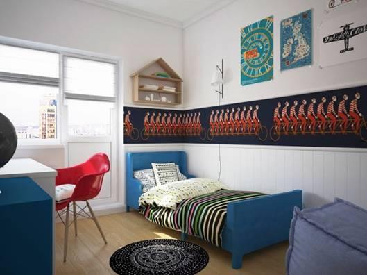 儿童房设计案例,给孩子打造五彩斑斓的童年!