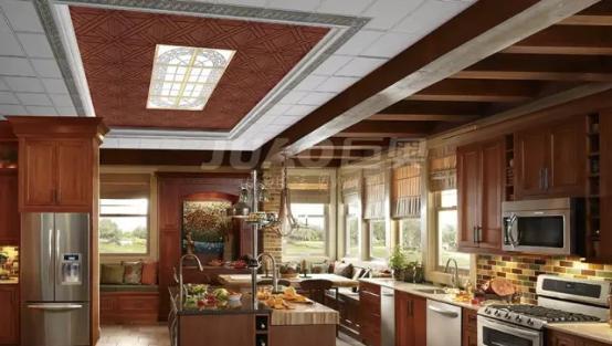 让人羡慕嫉妒恨的厨房吊顶形式