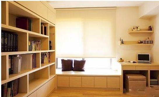 书房书柜设计效果图