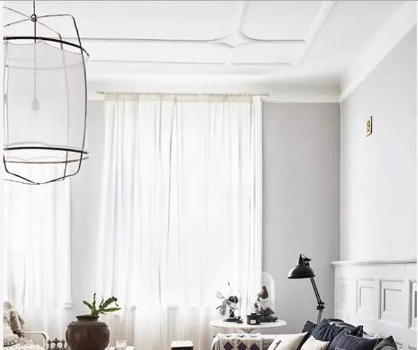 小户型客厅简约吊顶装修技巧