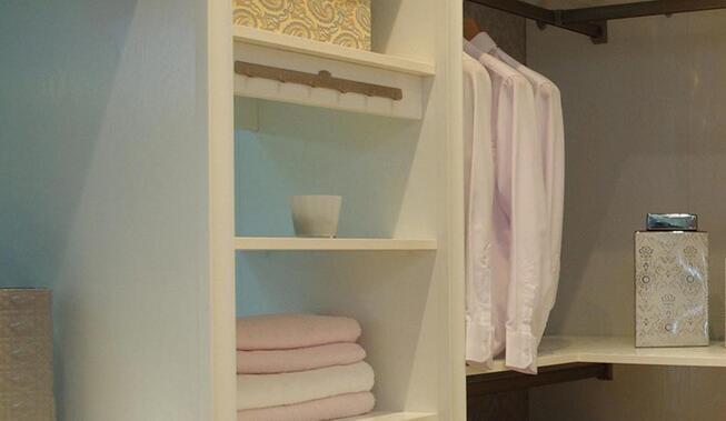 欧式风格衣帽间打造女士梦想更衣室!