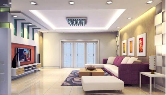客厅灯应该买多大的 吸顶灯尺寸选择