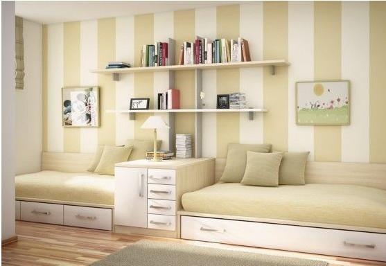 朋友突然来我家睡?为你制定书房放沙发床设计图