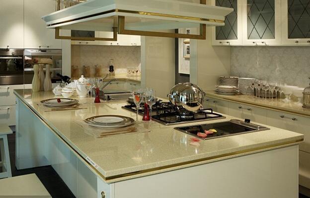 厨房装修:石英石台面如何选购?